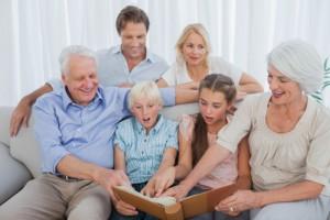 3 generations family photo ideas