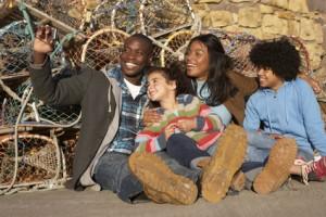 activity based family photo